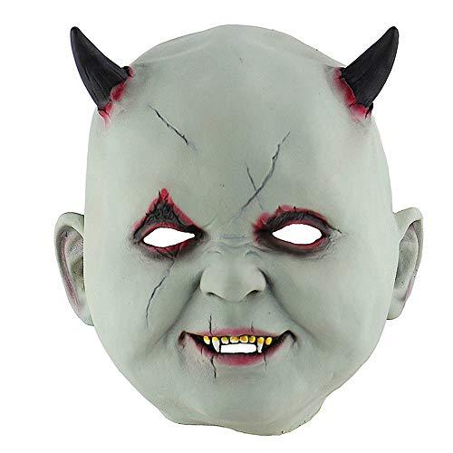 Máscara Halloween, Halloween Máscara de Látex Vampiro