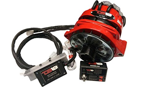 DS18 C-ALT450A 450 Amp Chevy Style High Current Output Add-On Alternator (SPL Competition Car...