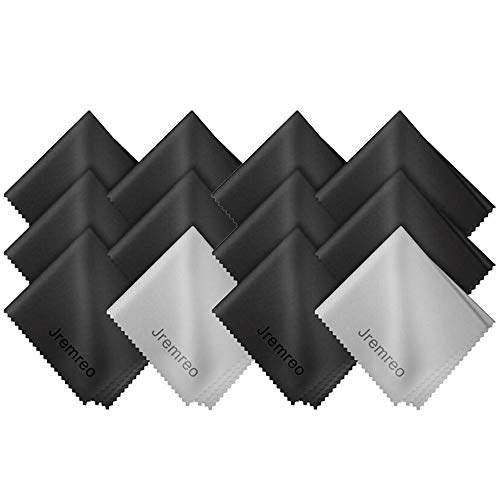 12 Pack Microfiber Cleaning Cloth, Lens Cleaning Wipes Lint Free Cloths for Eyeglasses  Louisiana