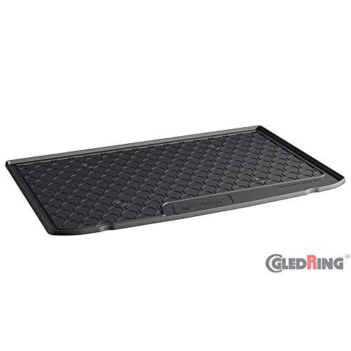 Gledring 1563 Rubbasol (Gummi) Kofferraumwanne passend für Renault Captur II 2020- (Höhe Variabele Ladeboden)