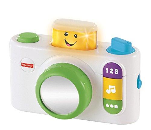 Fisher-Price Mattel CDL15 - Lernspaß klick und lern Kamera, weiß