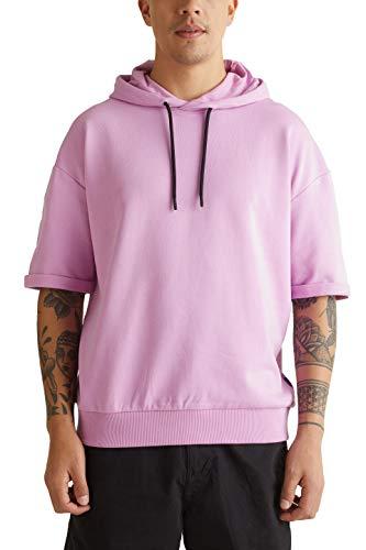 edc by ESPRIT Herren 040CC2J302 Sweatshirt, 560/LILAC, XL