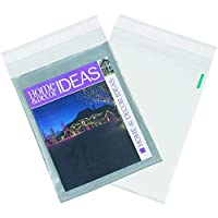 Partners Brand PCV1215 Clear View Poly Mailers 12 x 15 1/2 Clear/White (Pack of 100) [並行輸入品]