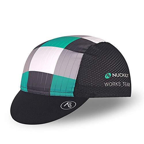 Outdoor-Fahrradreithüte Männer Und Frauen Kleinen Stoff Hut Sonnenschutz Atmungsaktive Hut Outdoor-Reitausrüstung (Grün)