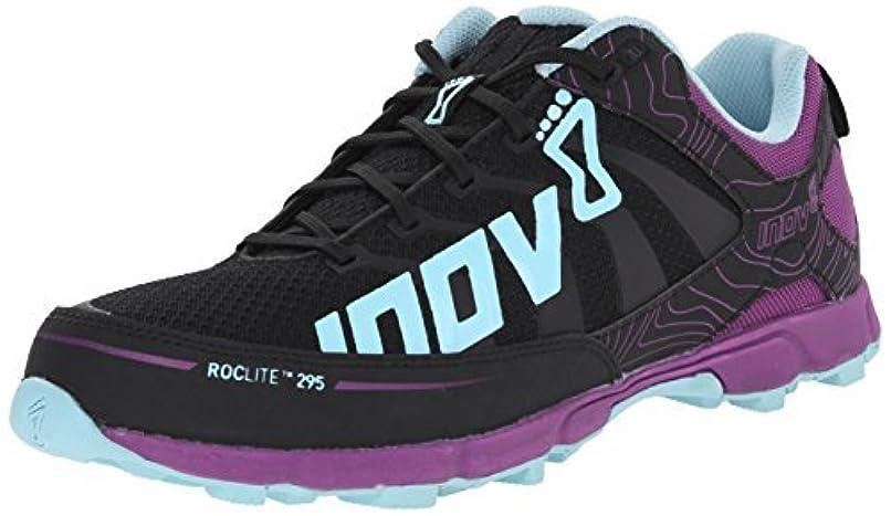 回路三番自信があるInov-8 Women's Roclite 295 Trail Running Shoe Grey/Purple/Blue 7 B US [並行輸入品]