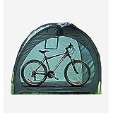 i-i自転車テント自転車サイクルハウス 雑貨 片屋根式簡易ガレージ 家庭用 アウトドア 戸外 携帯可 グリーン