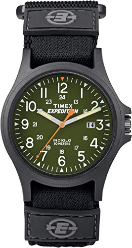 Timex Expedition TW4B00100 - Reloj de Pulsera para Hombre, Correa de Nailon, Color Negro