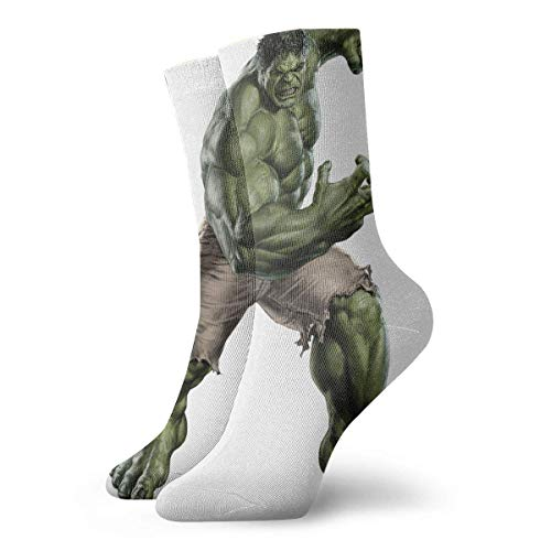 N\A - Calcetines de equipación para hombre Hulk pintura calcetines de compresión para vestido de cojín
