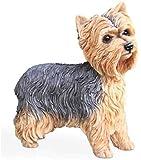 Escultura,Muebles para El Hogar Yorkshire Terrier Estatua Decoración...