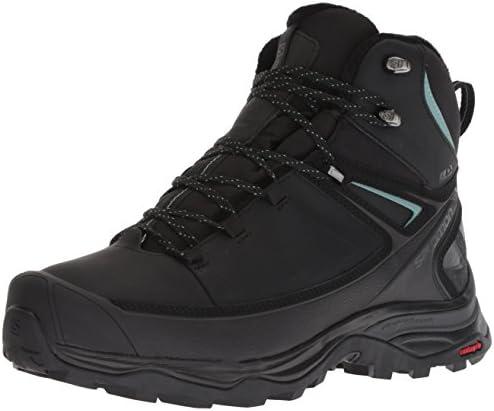 Salomon Women s X Ultra Mid CSWP Winter Snow Boots Black PHANTOM Trellis 8 5 product image