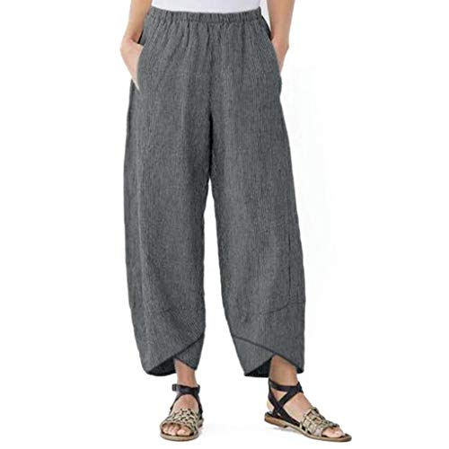 BAOHOKE Stylish Camouflage Women High Waisted Buckle Cargo Pants,Summer Wide Leg Side Pocket Casual Shorts