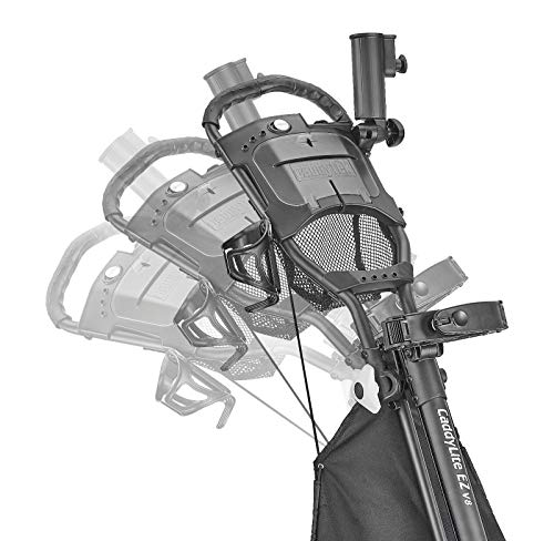 Caddytek Unisex's CaddyLite V8-Dark Grey EZ-fold 3 Wheel Golf Push Cart Version 8, One size