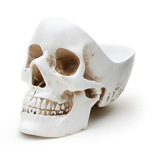 SUCK UK Crâne vide-poches - Blanc