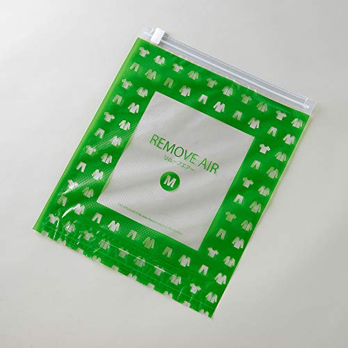 【日本製】【Amazon.co.jp限定価格】衣類圧縮袋リムーブエアー10枚アソートセットエンボス加工あり