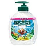 Palmolive Seife Aquarium, 6er Pack (3x Flasche mit Pumpe und 3x Nachfüllflasche) - Flüssigseife...