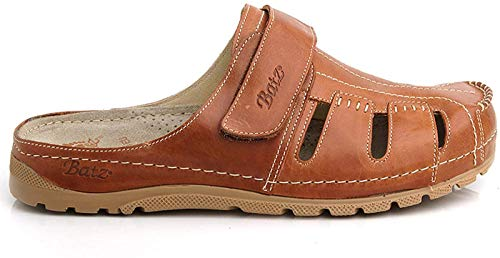 Batz Sandalen aus hochwertigem Leder (Braun)