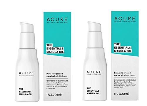 Acure Nourishing Healing Marula Oil, 1 fl. oz. (Pack of 2)