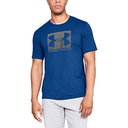 Camiseta/UNDER ARMOUR:Boxed Sportstyle M Azul