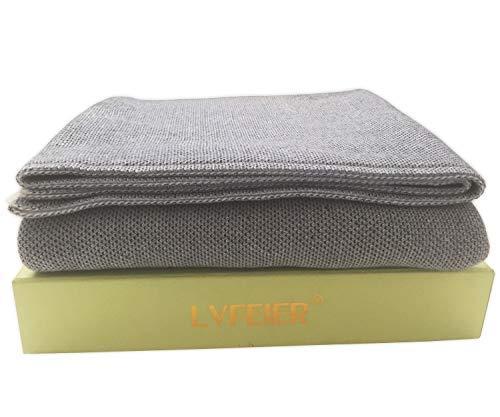 LVFEIER RFID Shielding Radiation Blocks EMF Isolation Belly Pregnancy Blanket 33.5X 43.3 Inches