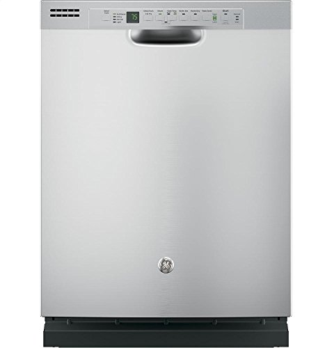 "GE GDF610PSJSS 24"" Energy Star Built In Dishwasher with 16 Place Settings in Stainless Steel"