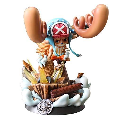Liiokiy 26 cm Anime Figura One Piece Anime Juego Carácter Modelo Tony...