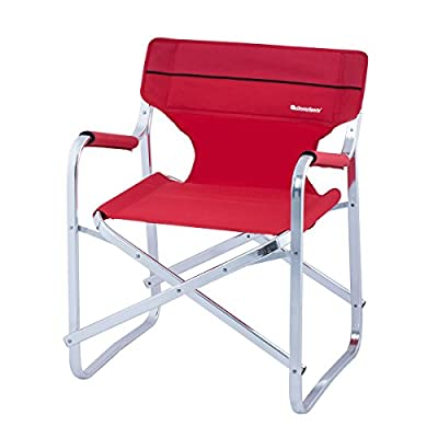 OnwaySports Aluminum Frame Director Chair Lightweight Foldable Portable for Camping
