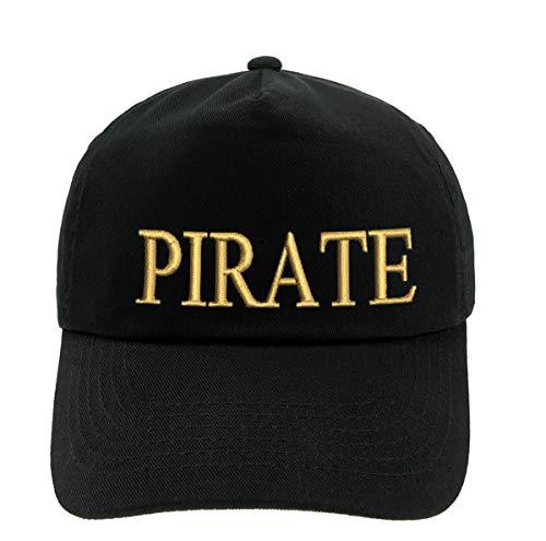 4sold Niños Hombres Mujeres 100% Algodón Yachting Gorra de béisbol Inscripción Inscripción Capitán de béisbol Sombrero para el Sol Sombrero de Verano Oro Negro