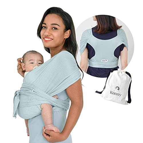 Product Image of the Konny Baby Carrier Summer | Ultra-Lightweight, Hassle-Free Baby Wrap Sling |...