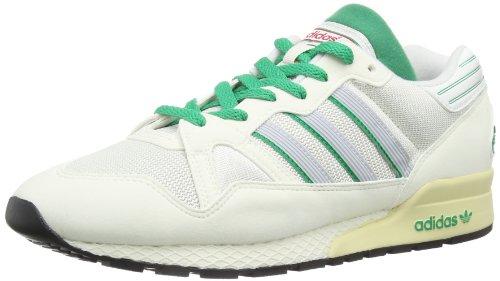 adidas Originals Zx 710 D65785, Herren Sneaker, Weiß (WHITE VAPOUR S11/NEO WHITE S08/FRESH GREEN S11), EU 45 1/3