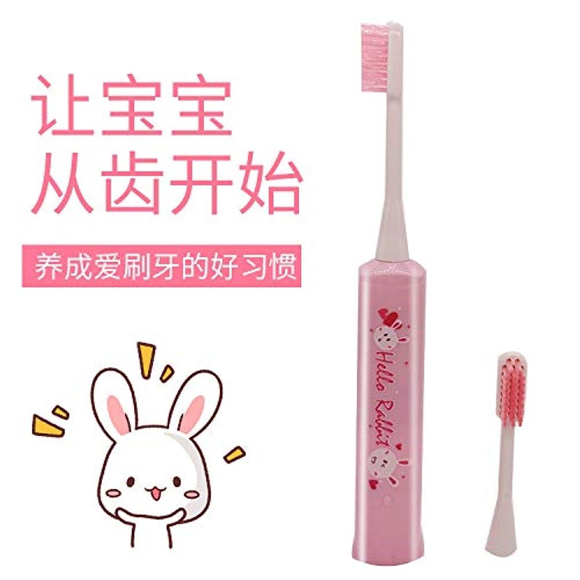 ポスター見ました資金大人の子供電動歯ブラシ ソニック歯ブラシ 洗濯ギフトブラシ ヘッド 電動歯ブラシ カスタム ピンク