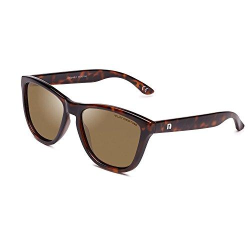 CLANDESTINE Model Habana Brown - Gafas de Sol de Nylon HD para Hombre & Mujer