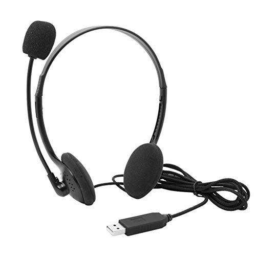 Why Should You Buy USB Headset with Microphone,Over-The-Head Computer Headphone Comfort-fit Call Cen...