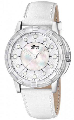 Lotus Glee Reloj para Mujer Analógico de Cuarzo con Brazalete de Piel de Vaca L15747/1