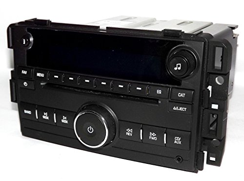 1 Factory Radio AM FM CD Player Radio w Aux Input USB UUI Unlocked Compatible With 2010-15 Chevrolet Truck 20918430