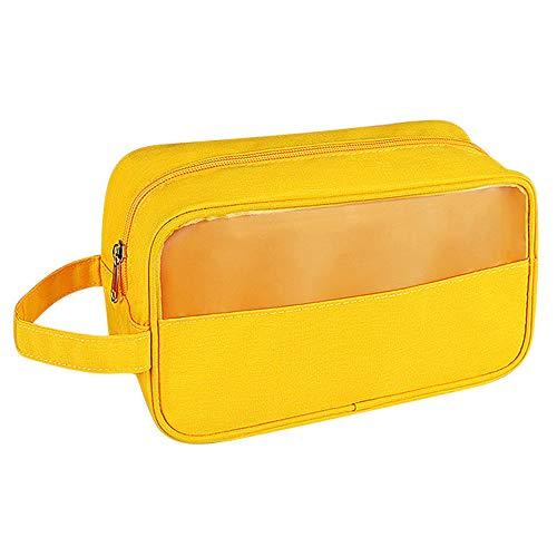 ERCRYSTO Bolsa de aseo colgante Singla bolsa de viaje, resistente al agua, kit de viaje impermeable, organizador de zapatos, bolsa para mujeres, hombres y niños