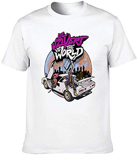 Honyse Lil-Uzi-Vert Short Sleeve T-Shirt for Men,X-Large