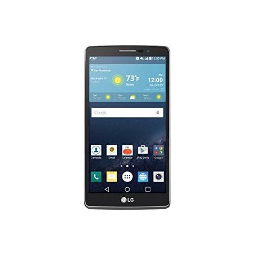 "LG G Vista 2 H740 (16GB, 2GB RAM) | 5.7"" Full HD Display | 13MP Camera | 3000 mAh Battery | Android 6.0 Marshmallow | 4G LTE | GSM Unlocked |Titan Black | Stylus Pen Smartphone"