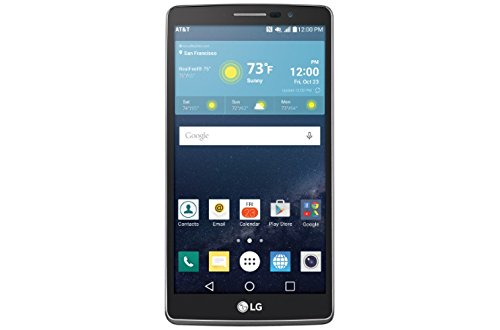 LG G Vista 2 H740 (16GB, 2GB RAM) | 5.7' Full HD Display | 13MP Camera | 3000 mAh Battery | Android 6.0 Marshmallow | 4G LTE | GSM Unlocked |Titan Black | Stylus Pen Smartphone