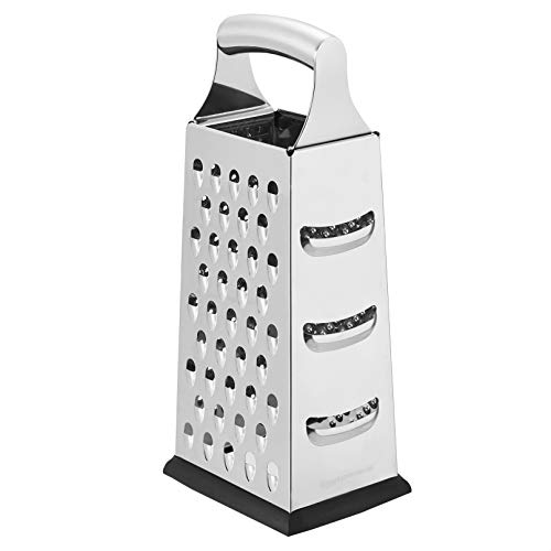 AmazonCommercial Stainless Steel Heavy-Duty Cheese Grater