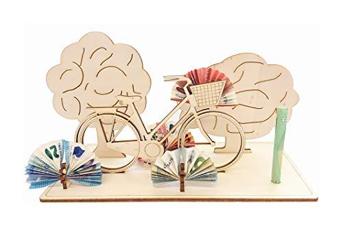 Geldgeschenk, Fahrrad, Dekofahrrad, Modellfahrrad, E-Bike, Pedelec, Elektrofahrrad