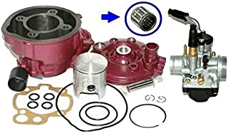 Unbranded BIG BORE 65cc CYLINDER BARREL KIT compatible with KEEWAY X-RAY TX SM AJS JSM 50 LC
