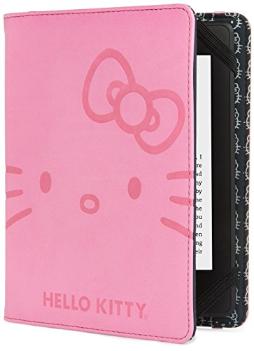 Hello Kitty Deboss Face Cover - Pink (Fits Kindle Paperwhite, Kindle & Kindle Touch)