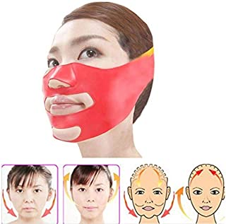 Gold Happy Silicone Slim Face Care Face Mask 3D V-Line Lift Facial Care Bandage-Slimming Face Double Chin Care Chewing Gum Slim Beauty Tool