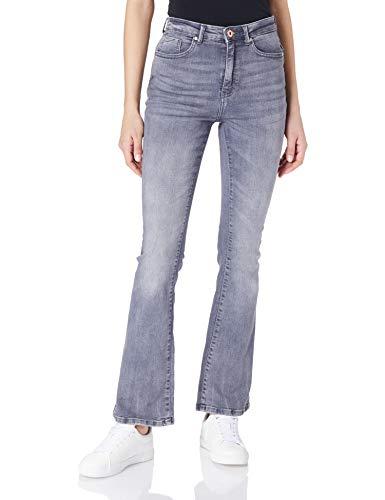 ONLY Female Flared Jeans ONLPaola Life HW M30Medium Grey Denim