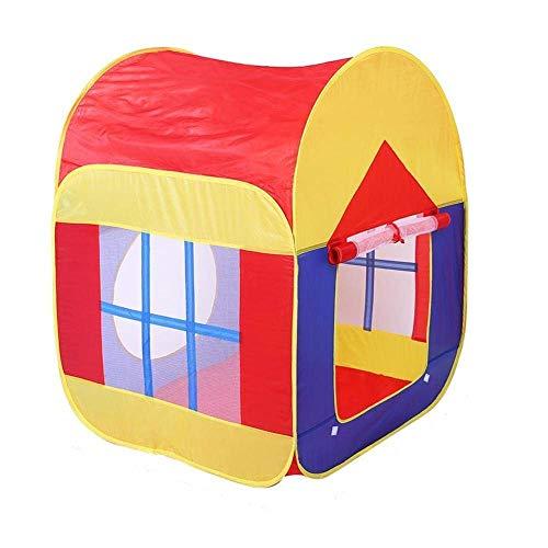 Cubby-Tube-Teepee Tienda de campaña emergente Túnel para niños Casa de Aventuras para niños Casa de Juegos para niños para Bolas oceánicas Piscina de Bolas para niños