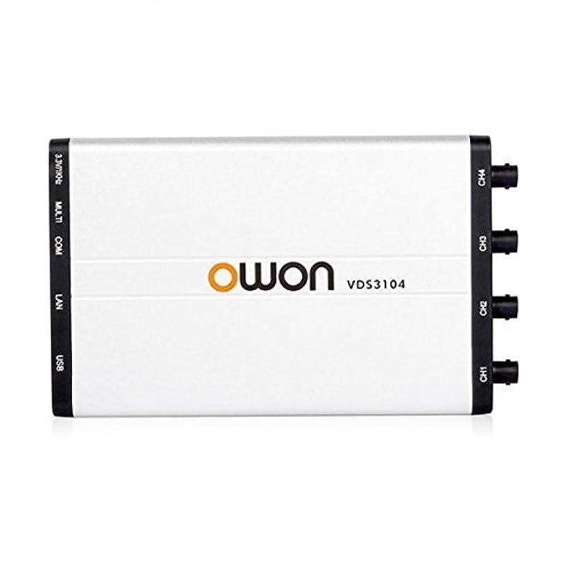 最近メンテナンス前件OWON VDS3104 USB 接続型オシロスコープ 4チャンネル 4x100MHz 1GS/s
