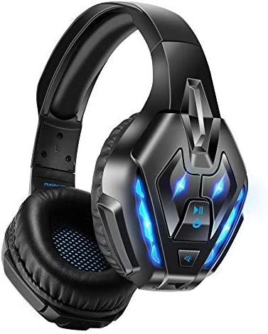 PHOINIKAS Gaming Headset for PS4 PC Xbox one Headset with 7 1 Sound Bluetooth Wireless Headset product image