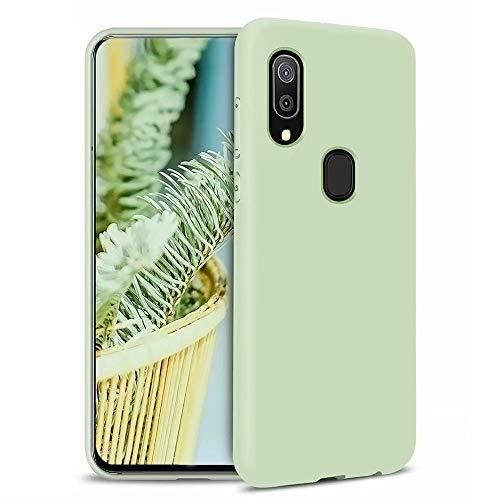 MUTOUREN Compatibel met Samsung Galaxy A7 2018 hoes TPU vloeibaar