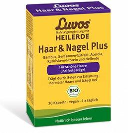 Luvos Heilerde Haar & Nagel Plus Kapseln Spar-Set 2x60St. Für schöne Haare, feste Nägel