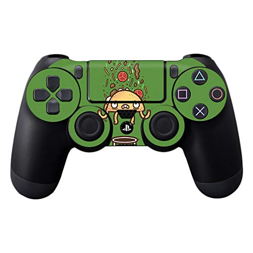 MightySkins Skin Compatible with Sony PS4 Controller - Taco Trampoline | Protective, Durable, and Unique Vinyl Decal wrap Cover | Easy to Apply, Remove, and Change Styles | Made in The USA